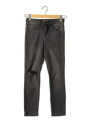 Jeans coupe slim gris BILLABONG pour femme