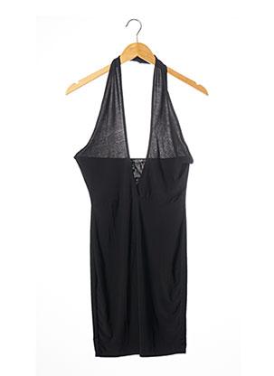 Robe mi-longue noir NASTY GAL pour femme