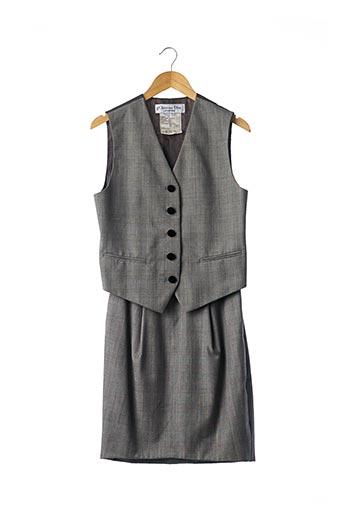 Veste/jupe gris CHRISTIAN DIOR pour femme