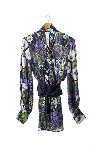 Robe courte violet CIRCUS HOTEL pour femme