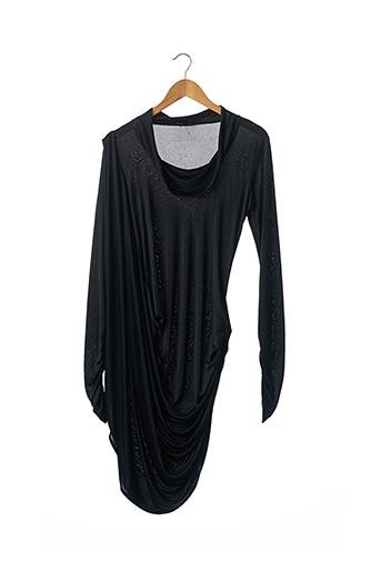 Robe mi-longue noir ALEXANDER MCQUEEN pour femme