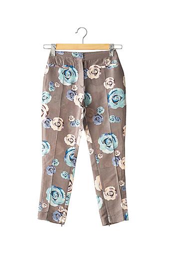 Pantalon 7/8 gris TARA JARMON pour femme
