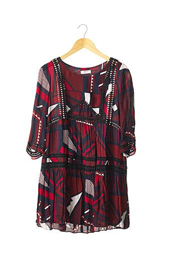 Robe courte rouge BA&SH pour femme