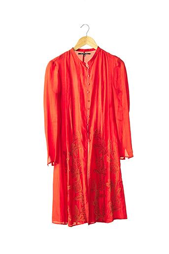 Veste casual rouge BLEU BLANC ROUGE pour femme