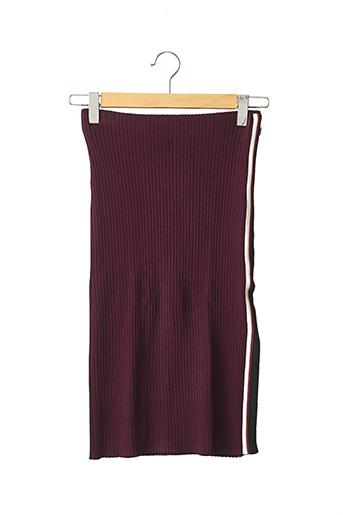 Jupe mi-longue rouge SCOTCH & SODA pour femme