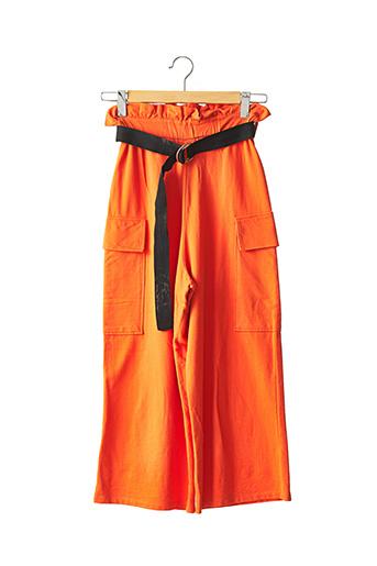 Pantalon casual orange ASOS pour femme