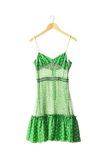 Robe mi-longue vert DOLCE & GABBANA pour femme