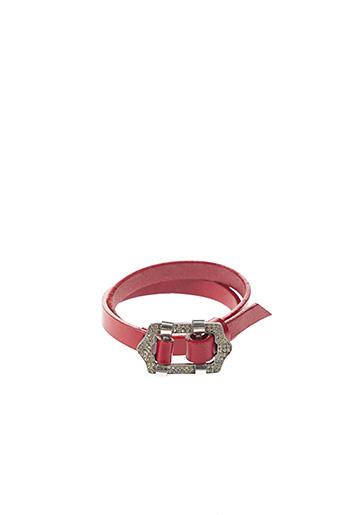 Collier rouge DIOR pour femme