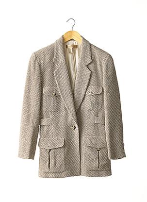 Veste chic / Blazer beige EXCURSION pour femme