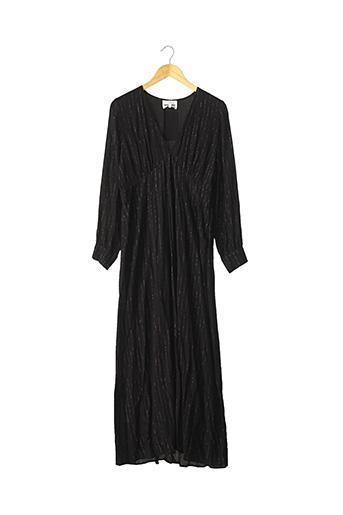 Robe mi-longue noir ANTIK BATIK pour femme