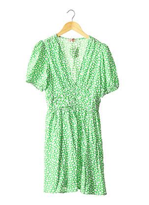 Robe courte vert GOA pour femme