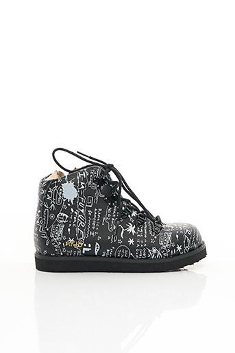 Bottines/Boots noir AKID pour garçon