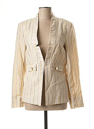 Veste casual beige JULIE GUERLANDE pour femme