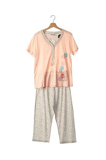 Pyjama rose EGATEX pour femme