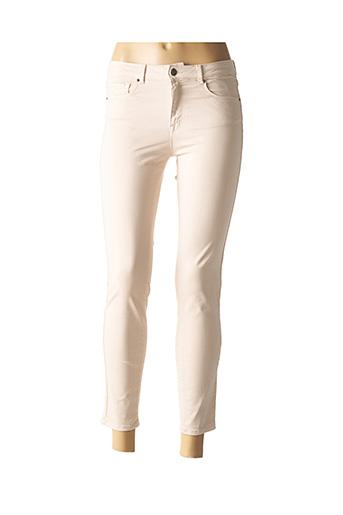 Pantalon 7/8 beige ZAPA pour femme