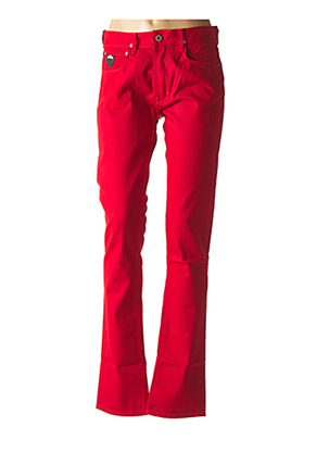 Pantalon casual rouge APRIL 77 pour homme