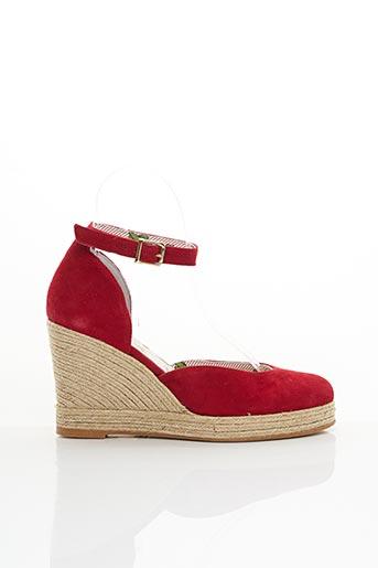 Espadrilles rouge MELLOW YELLOW pour femme