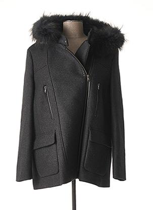 Manteau court gris ZAPA pour femme