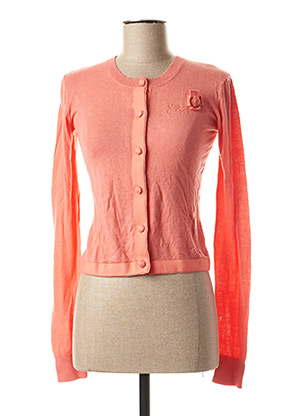 Gilet manches longues rose TUMBLE'N DRY pour fille