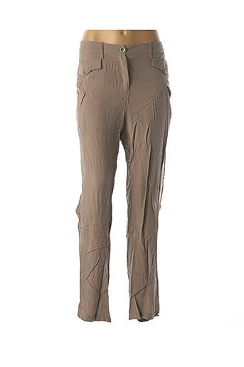 Pantalon casual marron ACCESS FASHION pour femme