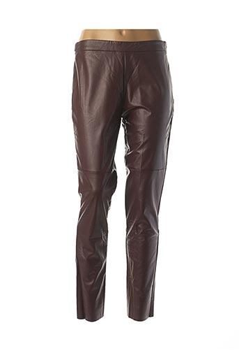 Pantalon casual rouge CALZEDONIA pour femme