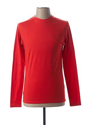 T-shirt manches longues orange OXBOW pour homme