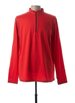 T-shirt manches longues rouge OXBOW pour homme