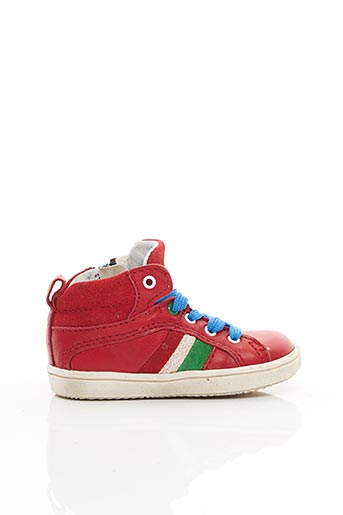 Baskets rouge ACEBOS pour garçon