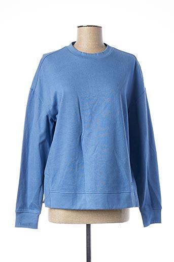 Sweat-shirt bleu MUSTANG pour femme