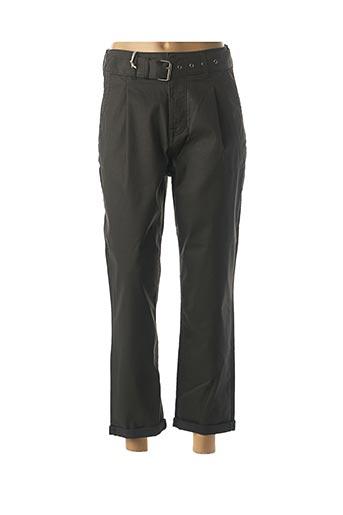 Pantalon 7/8 noir MUSTANG pour femme