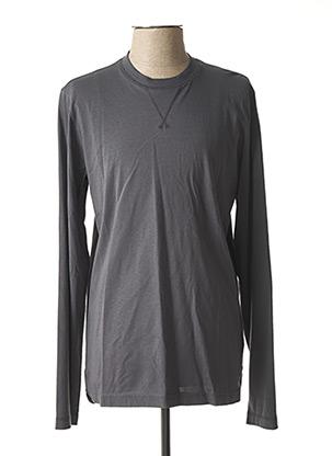 T-shirt manches longues gris MUSTANG pour homme