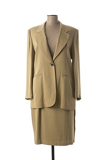 Veste/jupe beige DIMENSION pour femme