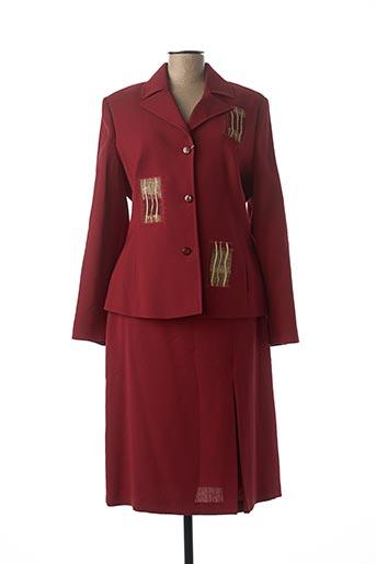 Veste/jupe rouge DIDIER PARAKIAN pour femme