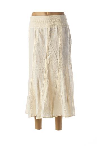 Jupe longue blanc APRIORI pour femme