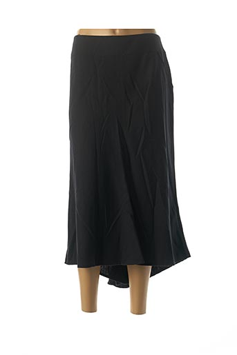 Jupe longue noir DIDIER PARAKIAN pour femme