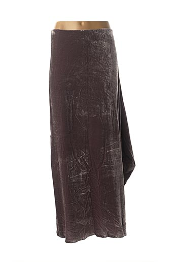 Jupe longue violet DIDIER PARAKIAN pour femme