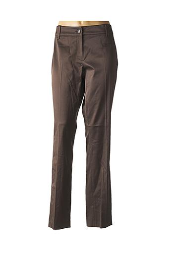 Pantalon casual marron APRIORI pour femme