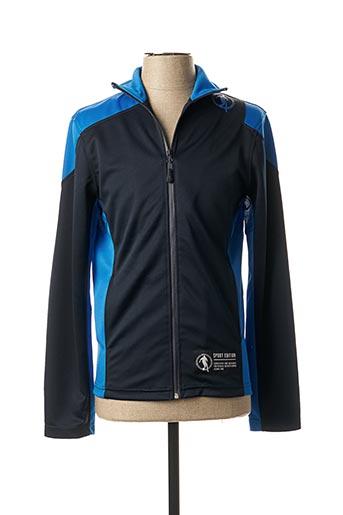 Veste casual bleu BIKKEMBERGS pour homme