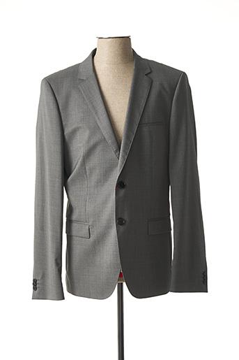 Veste chic / Blazer gris HUGO BOSS pour homme