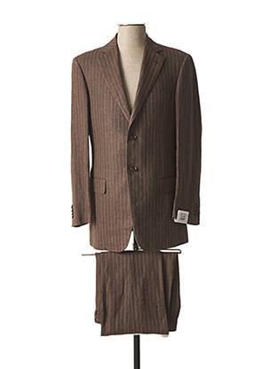 Veste/pantalon marron PAL ZILERI pour homme