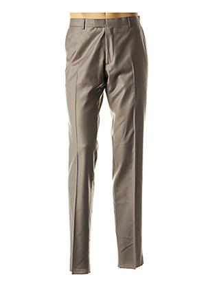 Pantalon chic gris GREGE CREATION pour homme