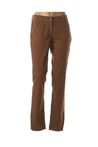 Pantalon casual marron ATELIER GARDEUR pour femme