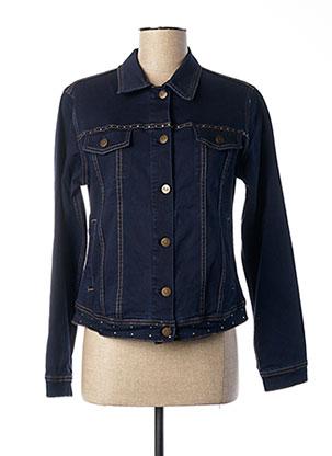 Veste en jean bleu PAUL BRIAL pour femme