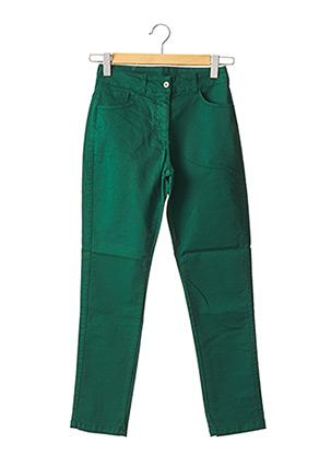 Pantalon casual vert MALOKA pour femme