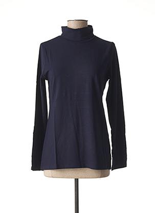 Sous-pull bleu MALOKA pour femme
