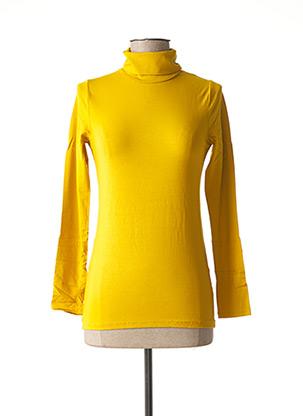 Sous-pull jaune MALOKA pour femme