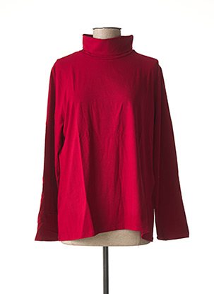 Sous-pull rouge MALOKA pour femme