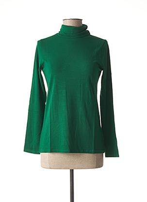 Sous-pull vert MALOKA pour femme