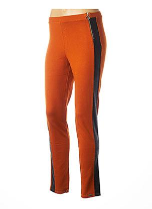Legging orange MALOKA pour femme