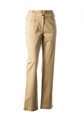 Pantalon casual beige ARMOR LUX pour femme